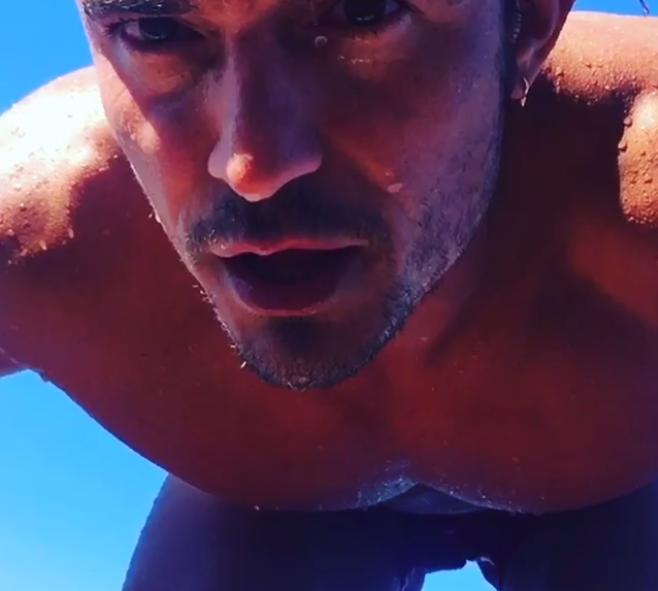 Orlando Bloom Is On Instagram - Ocean 98.5 Orlando Bloom Instagram